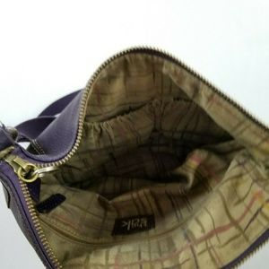 Unbranded Bags - Brown soft Faux Leather Brown Crossbody Bag Purse